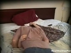 My girlfriends cute lady on hidden web camera