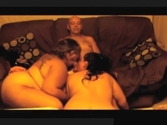 Swinger foursome with 2 bbw's