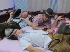 german chicks in wild lederhosen gangbang