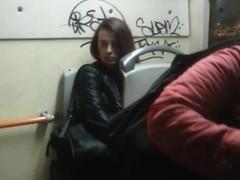 spy women in bus romanian