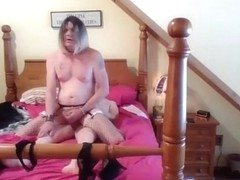 Emotional shemale Janey1964 getting fucked 2/3