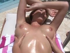 Anastasia Morna and Brett Ross are two naked horny lesbians