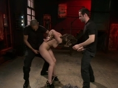 Amazing fetish, anal adult clip with hottest pornstars Mickey Mod and Nikita Bellucci from Dungeonsex