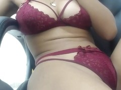 Booty and Busty webcam babe teasing in sexy lingerie