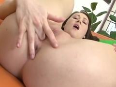 Exotic pornstar in incredible masturbation, college adult clip