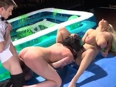 Brooklyn Blue, Danny D and Yuffie Yulan get wild