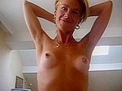 A homemade fuck video with blonde