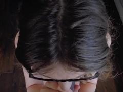 MOM Brunette shows her man great sex