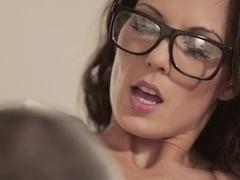Exotic pornstar Alexa Tomas in Amazing Stockings, MILF porn clip