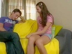 Teen Russian taking revenge on her dude by fucking hard