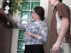 MaturesAndPantyhose Movie: Victoria B and Vitas