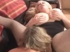 Blond big beautiful woman lesbos