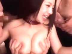 Best Japanese slut Mako Oda in Hottest Bukkake, Cumshot JAV clip