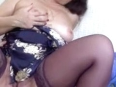 Redhead older sweetheart acquires her anal aperture filled up