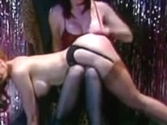 Flogging in vintage stockings two