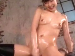 Incredible Japanese slut Riho Sawaki in Amazing Fingering, Stockings JAV movie