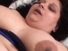Sarah Dark,Tinny Rados in FunMovies video:BBW gangbang