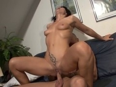 Horny mature babe rides like a slut on a big penis