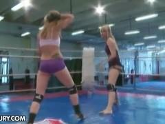 NudeFightClub presents Celine Doll vs Aleska Diamond