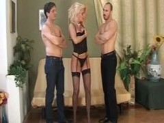 Milf gets boned in an MMF threesome