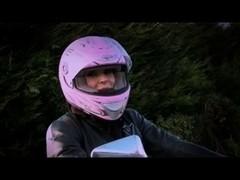 British motorbike wench bonks an Irishman part 1