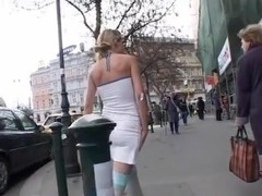 Incredible flashing movie with public scenes 3