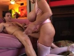 Hugetitted Granny Banging (short movie)