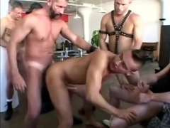 Jeff Palmer Gangbanged By Monster Cocks