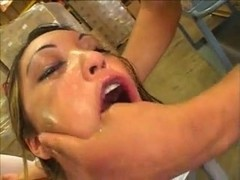 Nautica a hot slut shows a sloppy blowjob...