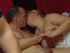 Horny couples fuck really hard together