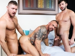 Jon Galt & Scott DeMarco & Jack Andy in Daddy Fuck - PrideStudios