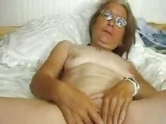 Slutty cute granny having enjoyment. Non-Professional mature