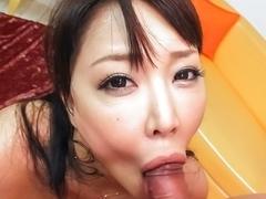 Best Japanese chick Hinata Komine in Crazy JAV uncensored Blowjob video