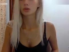 Beautiful blonde Whitekicca