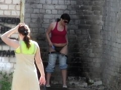 Girls Pissing voyeur video 12