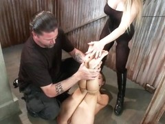 Bratty Whore Experiences Brutal Suffering Live Show Edited