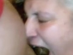 Married Older Neighbour Gags on My BBC - Homemade Non-Professional