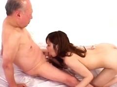 Granddad Shigeo Tokuda fuck youthful cutie