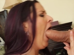 Caroline Pierce enjoys in sex with hot Jack Lawrence