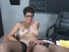 Charlie James & Jenner in My First Sex Teacher
