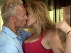 Hottest pornstar Kagney Linn Karter in best blonde, facial adult scene
