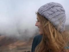 Horny pornstar Samantha Hayes in Hottest Reality, Beach sex movie