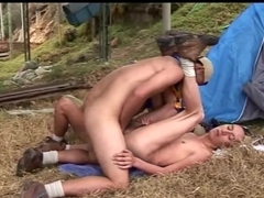 Tight latin bareback ass fucked with thick cock