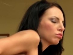 Exotic pornstar Leonelle Knoxville in hottest creampie, brazilian xxx clip