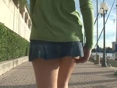 Amazing pornstar in crazy striptease, outdoor xxx video