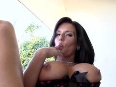 Horny busty milf Veronica Avluv seduces young stud