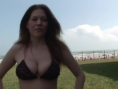 Hottest pornstar in amazing big tits, outdoor xxx video