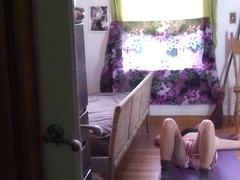 Step###ther cums in my bedroom - Erin Electra,ElectraChrist