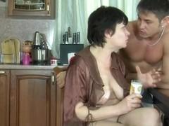 MaturesAndPantyhose Video: Elsa and Govard