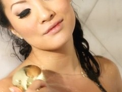 Sweet Asian Asa Akira loves a pretty brunette